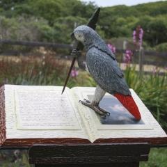 Flaubert's Parrot (detail) ©Pamela-Blotner