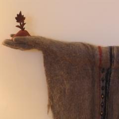 Hanuman Brings the Mountain, detail ©Pamela Blotner
