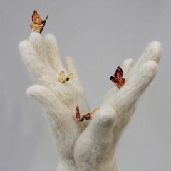 Moth, (detail) ©Pamela Blotner