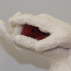 Red Frog (detail) ©Pamela Blotner